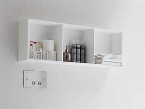 Meuble Mural Salle De Bain : meuble pour salle de bain suspendu by rexa design ~ Teatrodelosmanantiales.com Idées de Décoration
