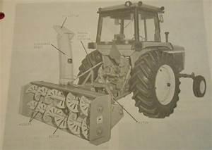 John Deere 270 Snow Blower Operator U0026 39 S Manual