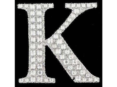 paper studio silver glitter gemstone sticker letter  shop fancy letters bling