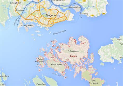 map  batam