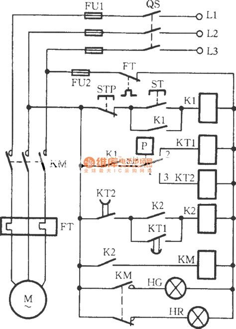 The Series Connecting Control Circuit Electric Contact