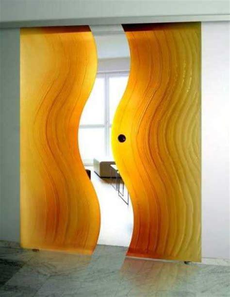 fantastic solid glass doors  room dividers inviting