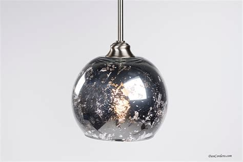 mercury glass pendant light fixture edison bulb by dancordero