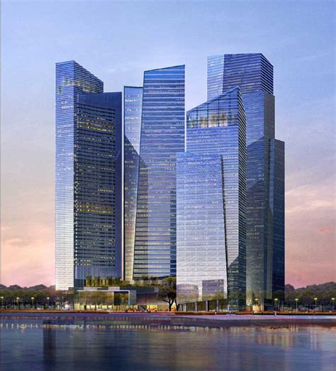 Ocbc Center Singapore Pei Building Architect