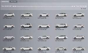 Audi All Models All Audi Models List Of Audi Cars Vehicles Audi - Audi all models list
