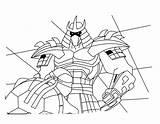 Coloring Shredder Pages Splinter sketch template