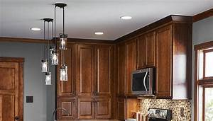 Pin install recessed ceiling lights on