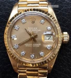 Rolex Damenuhr Gold Seatfreundewormsde