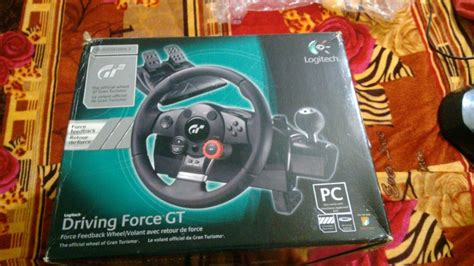 Volante Logitech Driving Gt by Volante Logitech Driving Gt R 600 00 Em Mercado Livre