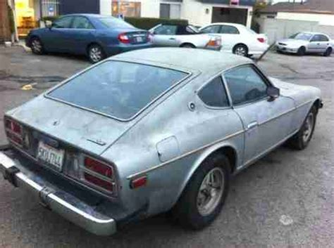 75 Datsun 280z by Purchase Used 75 Datsun 280z Base Car Or Parting Out No