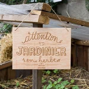 Pancarte En Bois : r sultat de recherche d 39 images pour joli pancarte bois jardin jardin pinterest pancarte ~ Teatrodelosmanantiales.com Idées de Décoration