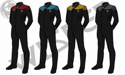 Uniform Trek Starfleet Star Uniforms Rpg Concept