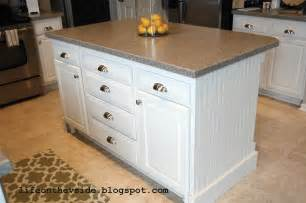 island kitchen cabinet diy by design kitchen makeover guest post on the v side
