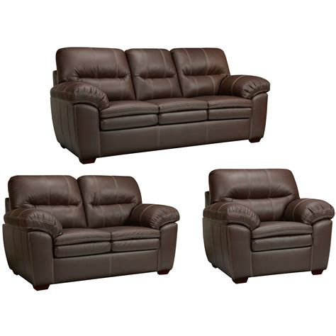 Italian Leather Sofa And Loveseat by The Hawkins Java Brown Italian Leather Sofa Loveseat And