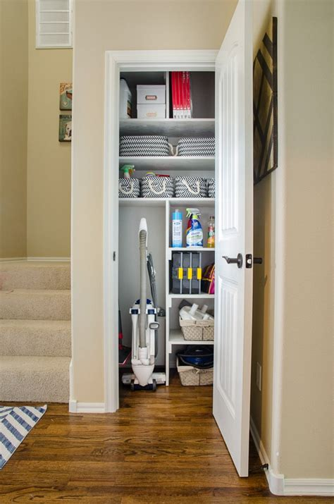 Cleaning Closet Ideas by From Coat Closet To Cleaning Closet Organizing In Style