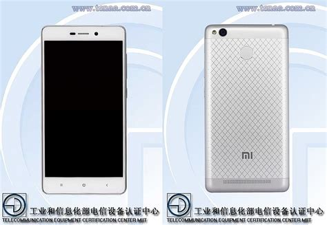 Xiaomi Redmi 3 With Fingerprint Sensor Spotted on