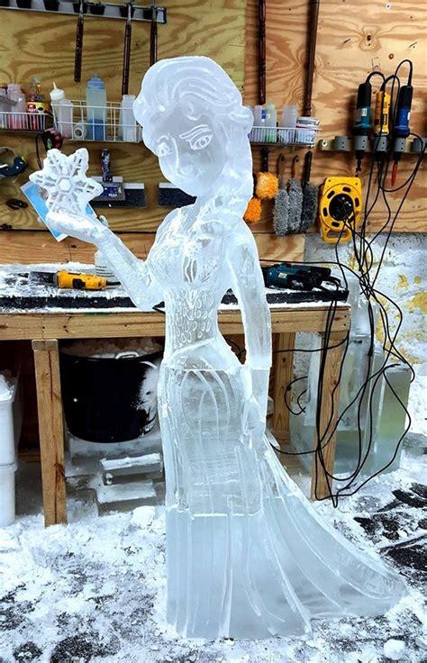 ice sculptures disney themed sculptures  ice