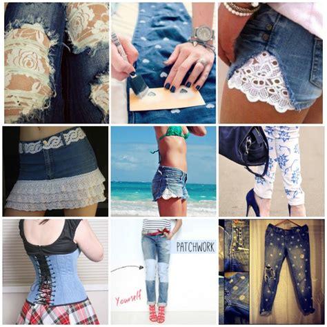 wonderful diy shorten long jeans  keeping  orignal hem