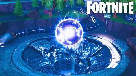 fortnite loot lake orb   explode   season