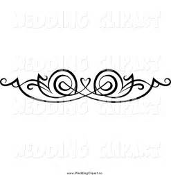 Black and White Heart Clip Art Borders