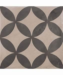 Imitation Carreaux De Ciment : carrelage imitation carreaux de ciment carr s de la marque ~ Dailycaller-alerts.com Idées de Décoration