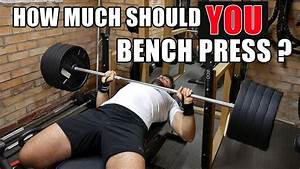 Weight Bench  Body Weight To Bench Press Ratio