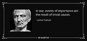 Julius Caesar q... War Result Quotes