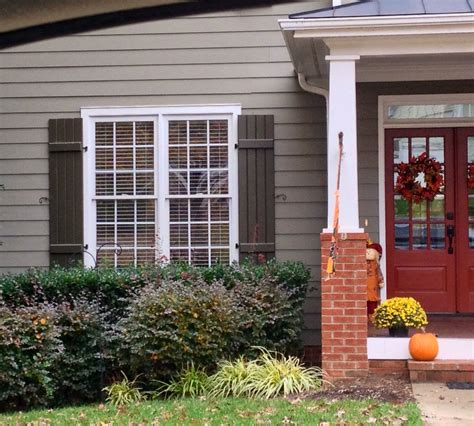 siding color front door color trim color shutter color