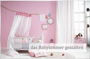 Babyzimmer Gestalten Mädchen : babyzimmer einrichten ~ Sanjose-hotels-ca.com Haus und Dekorationen