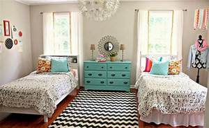 22, chic, and, inviting, shared, teen, girl, rooms, ideas