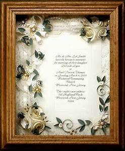 17 best images about wedding invitations framed keepsake for Wedding invitation framed with flowers