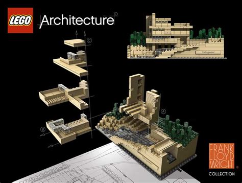 Architecture Set by Lego Architecture Brickstuctures Lego Building Models