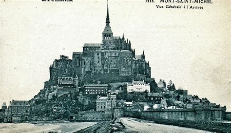 concerning mont michel in 1905 by gordon home guest normandy then and now