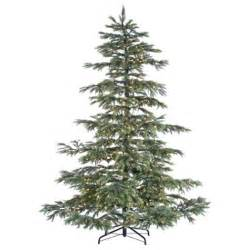 8 hx72 quot w layered noble fir smart lighted artificial christmas tree w stand ebay