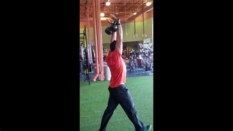 carry overhead kettlebell workout