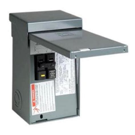 Square Homeline Amp Space Circuit Spa Panel Main
