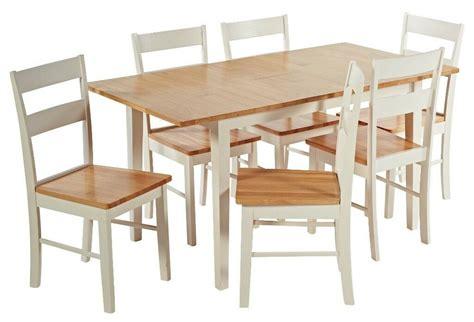 ex display argos home chicago extendable solid wood table