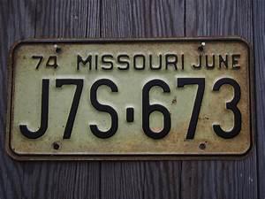 Plaque Immatriculation Voiture : ancienne plaque d 39 immatriculation americaine vintage usa ~ Melissatoandfro.com Idées de Décoration