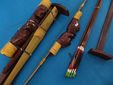sets wholesale decoration tribal art bow  arrows set