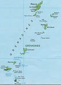Saint Vincent and the Grenadines Map