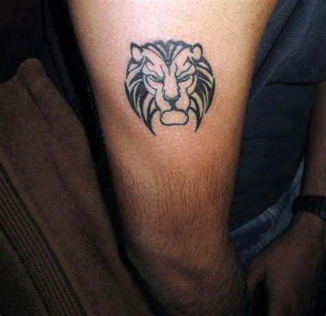 fearless lion tattoos creativefan