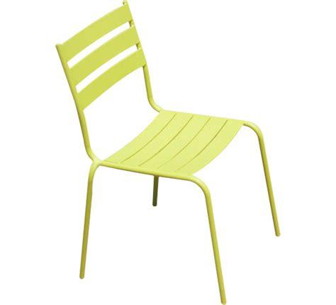 chaise vert anis chaise de jardin vert anis 29 salon d 39 été