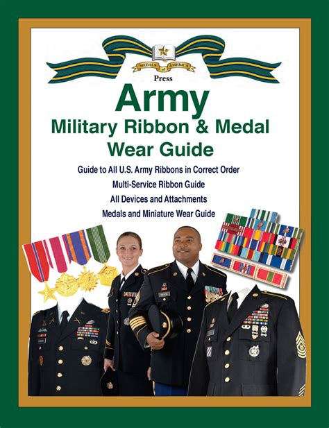 United States Army Military Ribbon & Medal Wear Guide ...
