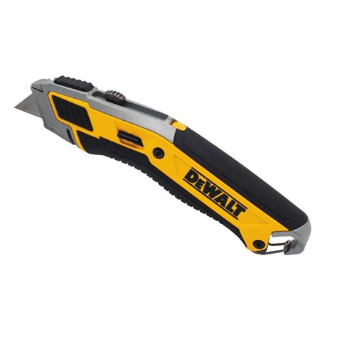 Utility Knives by Dewalt Retractable Utility Knife Dwht10295 The Home Depot