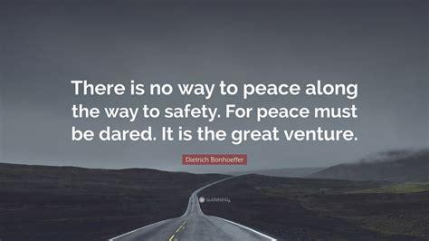 dietrich bonhoeffer quote      peace