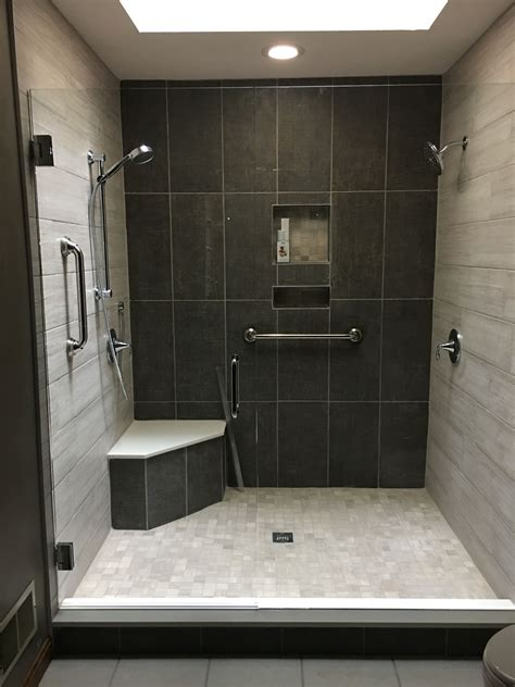 Bathroom Shower Renovation Ideas by Our Shower Renovation After Collecting Ideas 4 5 X6