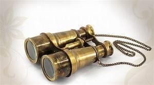 Objet Vintage Deco : objet d co paire de jumelles antique de marine ~ Teatrodelosmanantiales.com Idées de Décoration