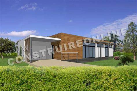 plan de maison moderne capseacusiz