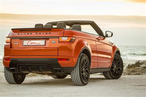 range rover evoque convertible  quick review cars