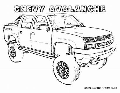 Coloring Truck Pages
